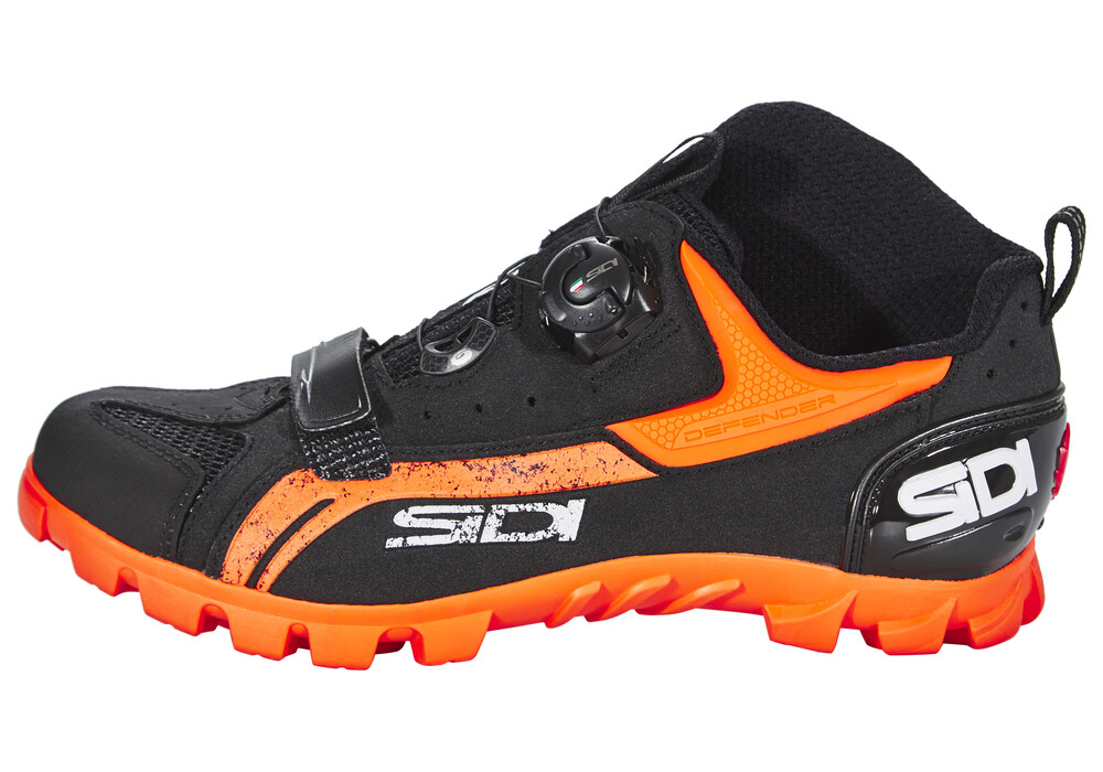 Giro Black And Orange Cycling Shoes